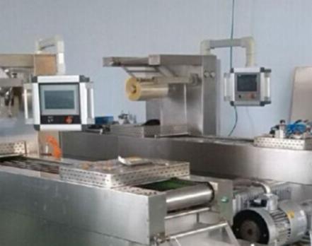 卤蛋拉伸膜包装机