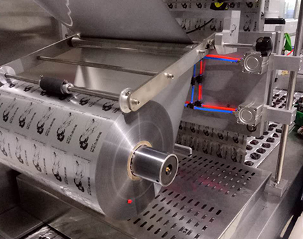 休闲食品拉伸膜包装机